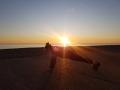 Sunset plank